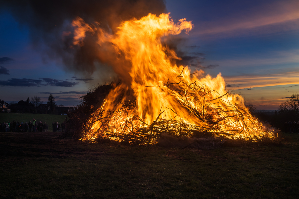 osterfeuer..